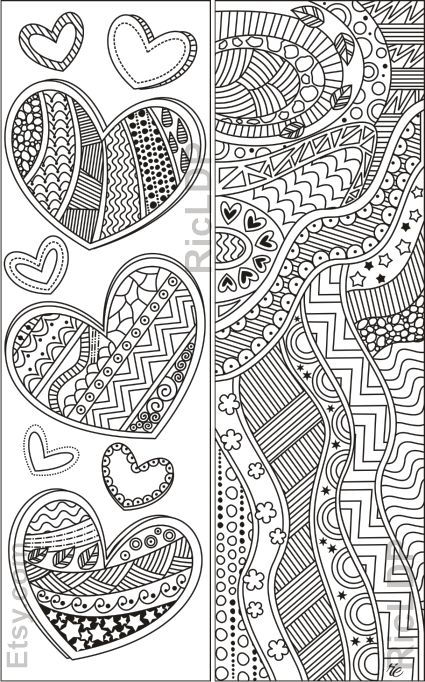 Valentine Coloring Pages for Adults 2