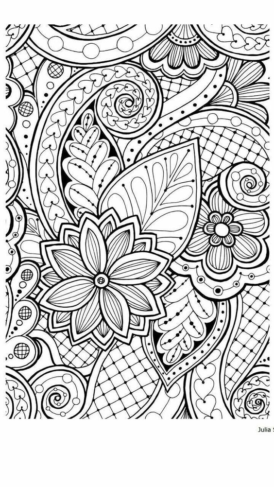Valentine Coloring Pages for Adults 3