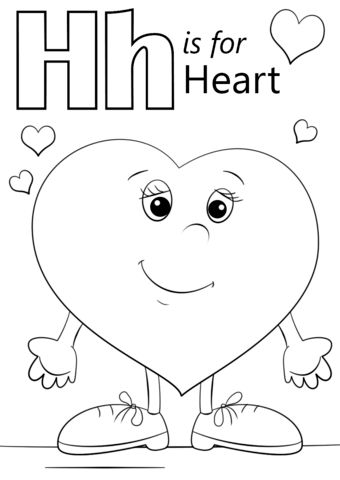 Valentine Coloring Pages for Toddlers 1