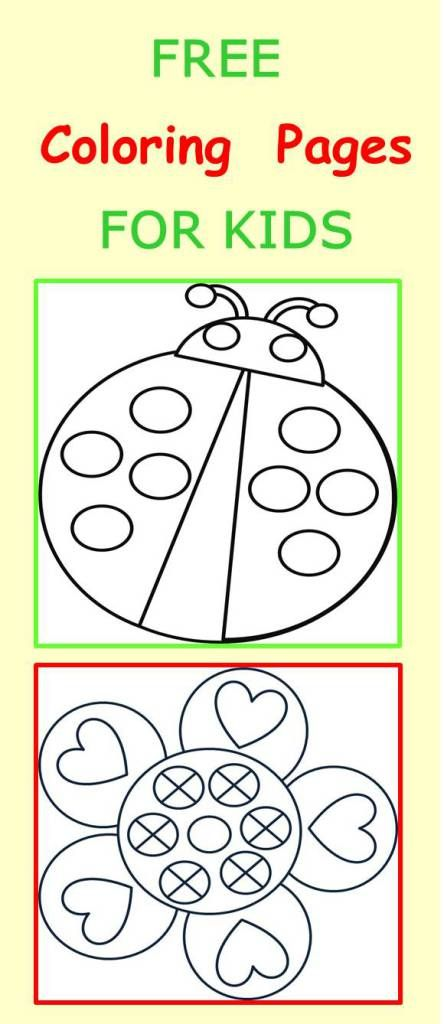 Valentine Coloring Pages for Toddlers 3