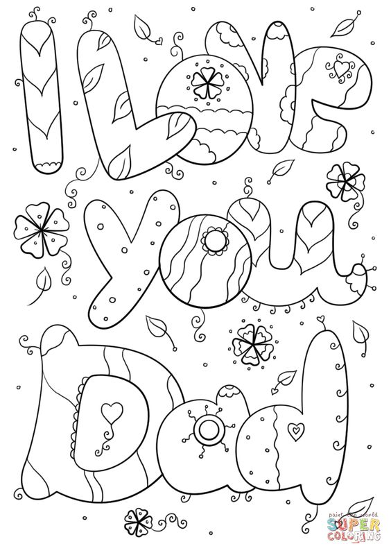 Valentine Coloring Pages for Toddlers 4