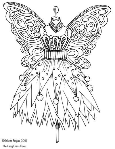 Valentine Coloring Pages of Clothing 1