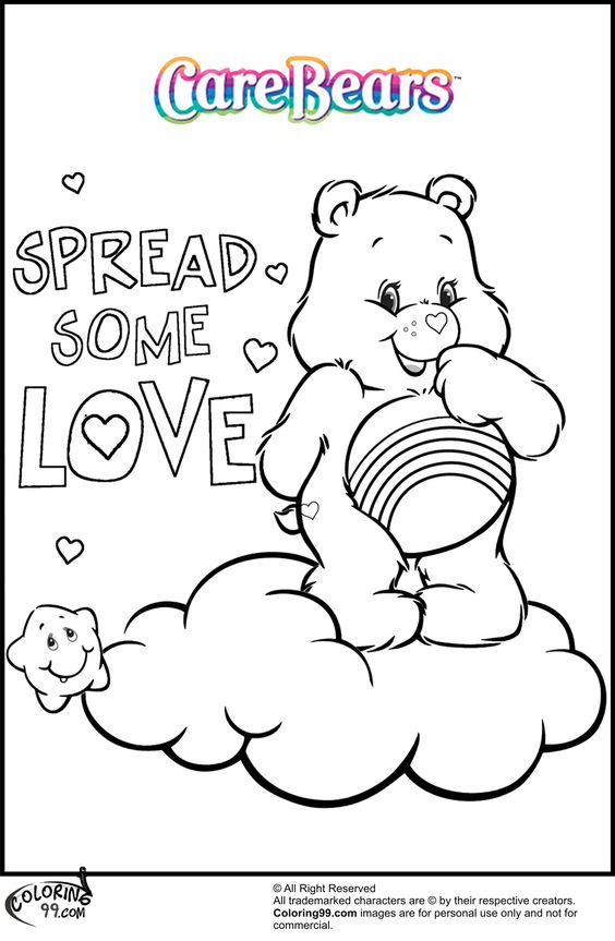 Vintage Valentine Coloring Pages 3