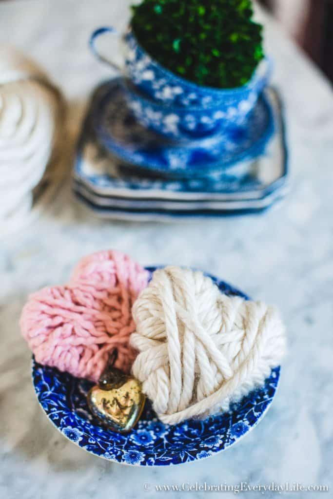Yarn heart