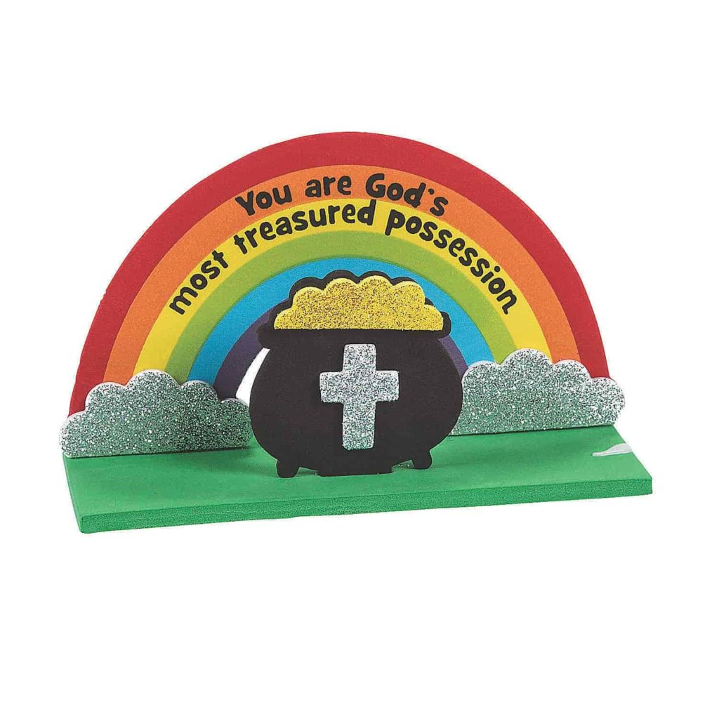 You Are God's Most Treasured Possession Craft Kit