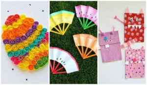 50 Crafts Using Paper and Glue