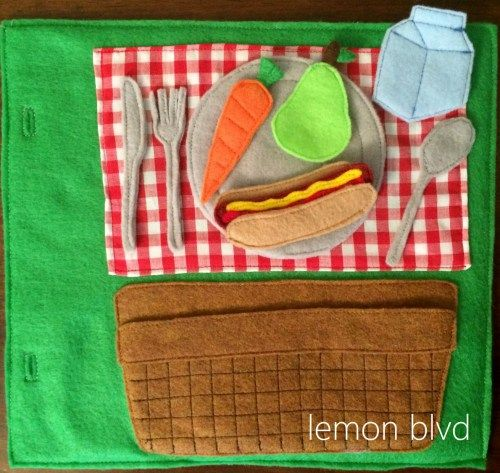 A Picnic in the Park Activity Book