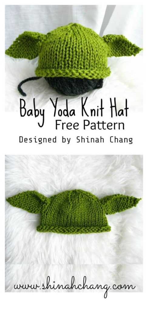 Baby Yoda Hat Knit Pattern