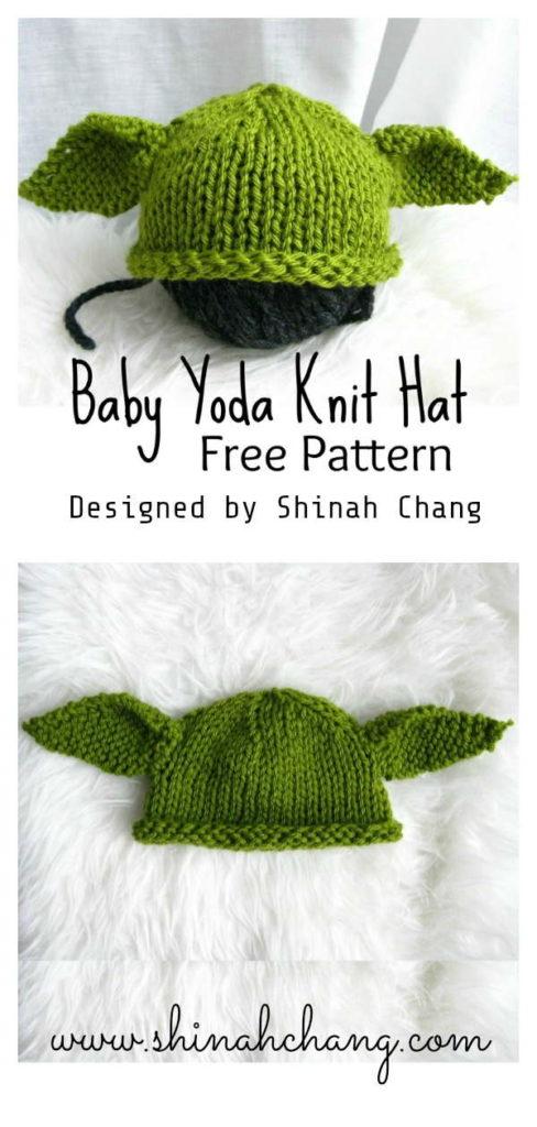 Baby Yoda Hat Knit Pattern