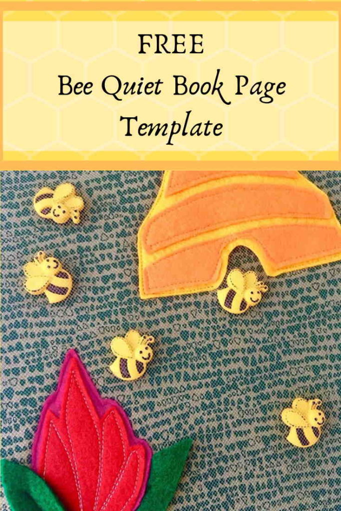 Beekeeper Quiet Book Activity