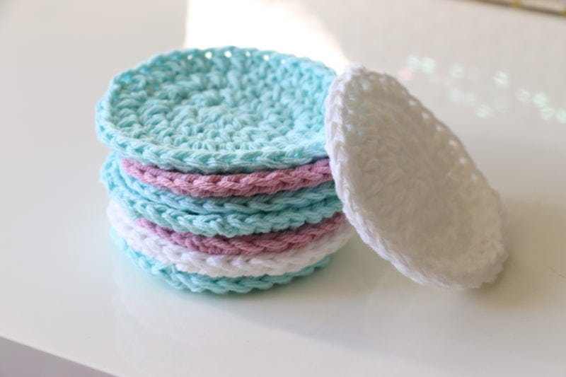 Cotton Crochet Free Face Scrubs