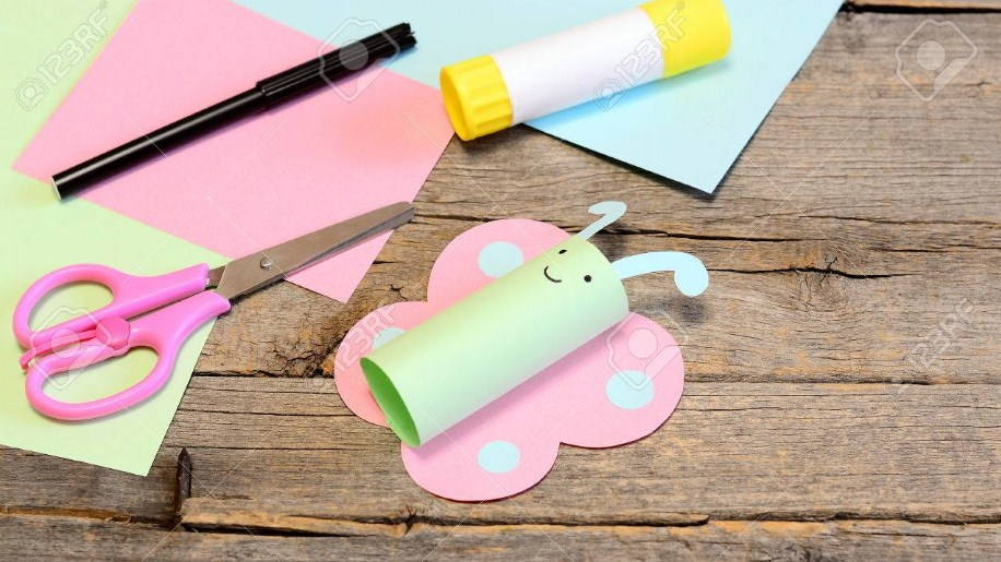 Crafts Using Paper and Glue