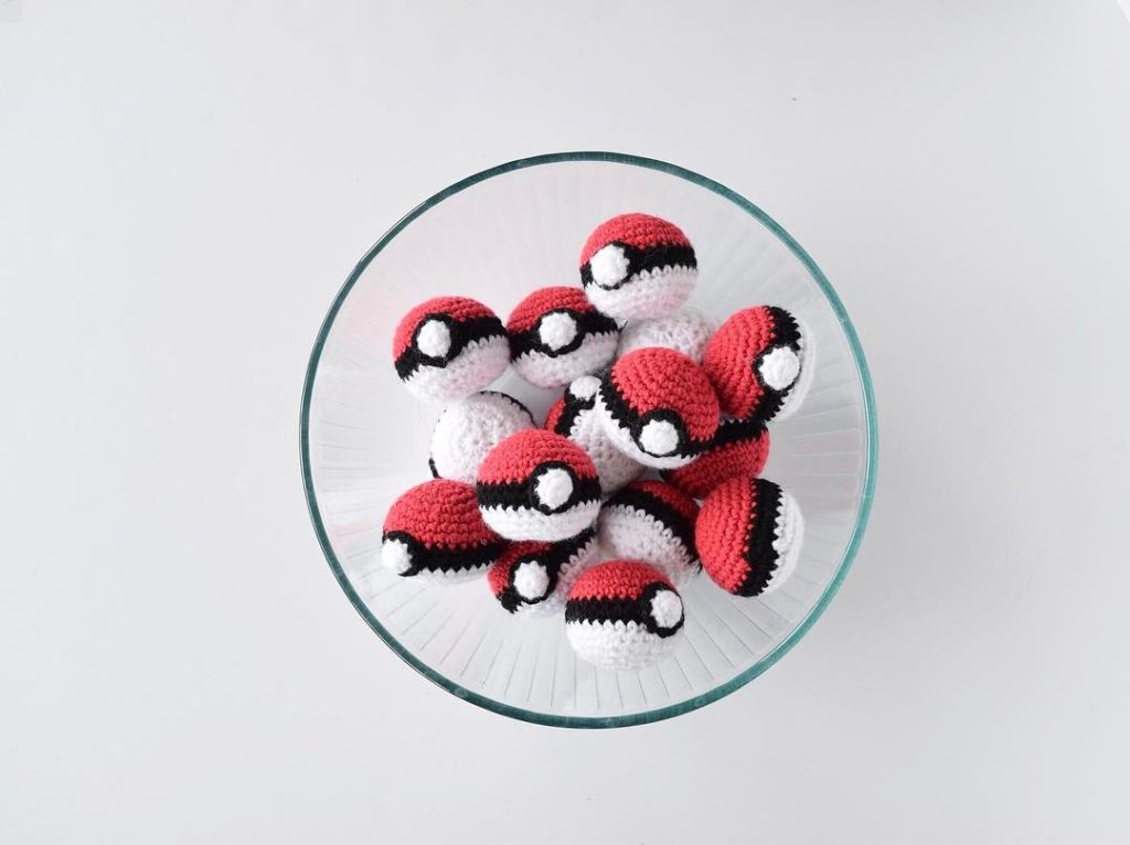 Crochet Pokemon Balls