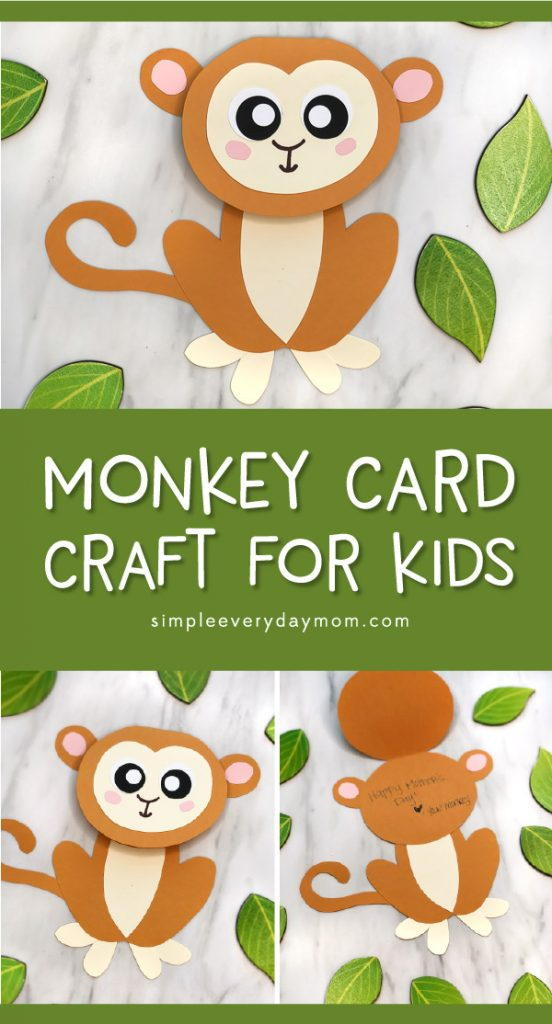 Cute Monkey Craft for Kids