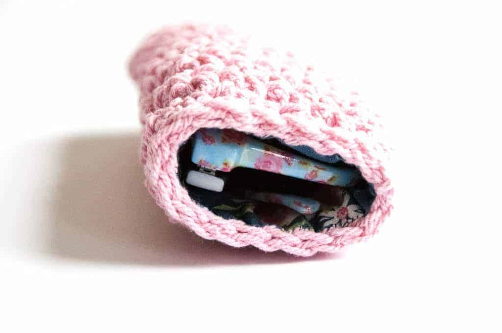 Cute Sunglasses Pouch Crochet Pattern