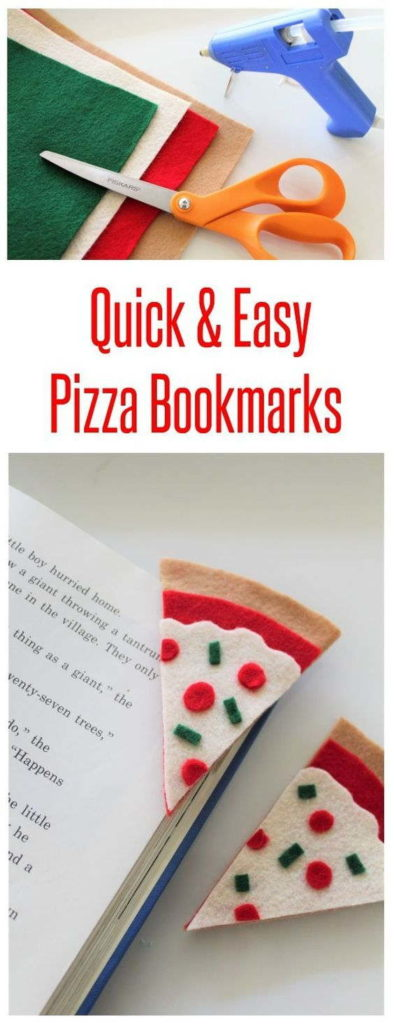 DIY Felt Teacup Bookmarks
