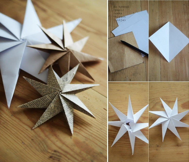 Decorative Paper Stars