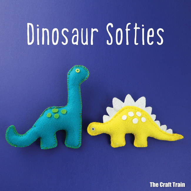 Dinosaur Softies