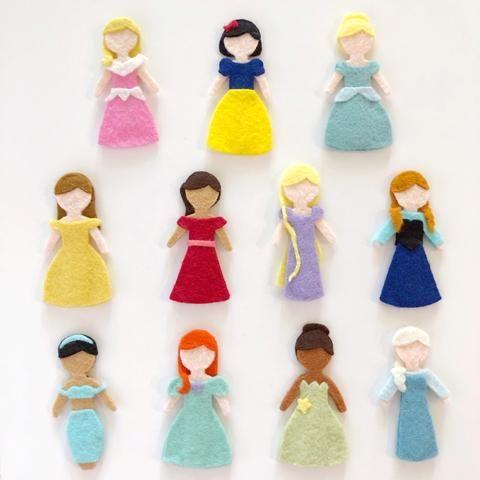Disney Princess Quiet Book