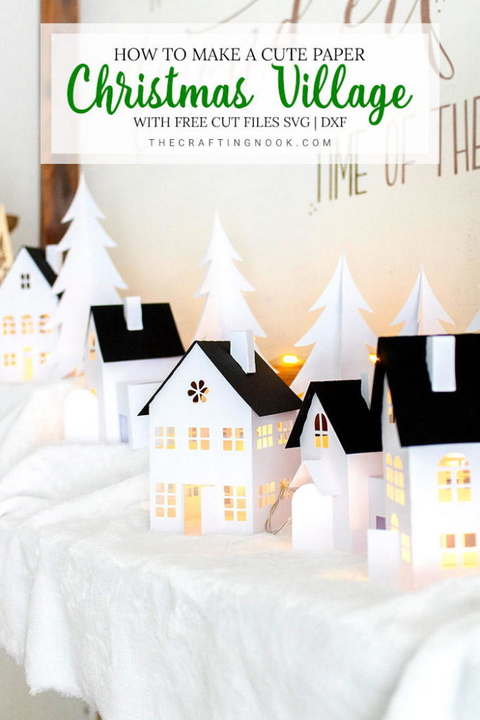 Do-It-Yourself Paper Christmas Village