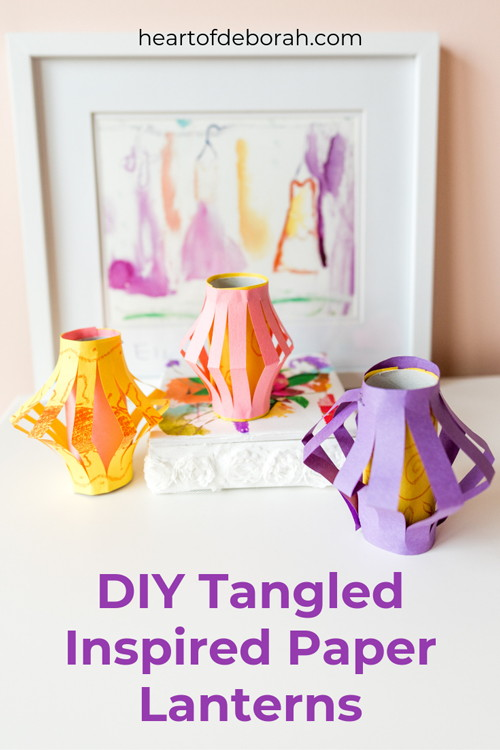 Do-It-Yourself Tangled-inspired Lanterns