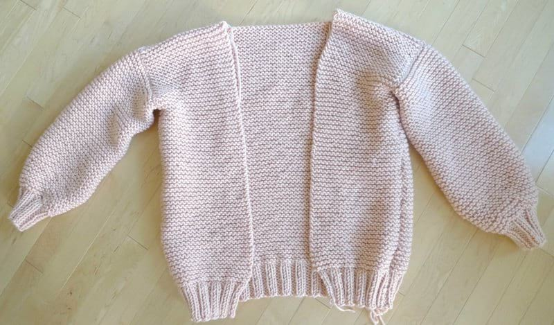 Downtown Cardigan Free Knit Pattern