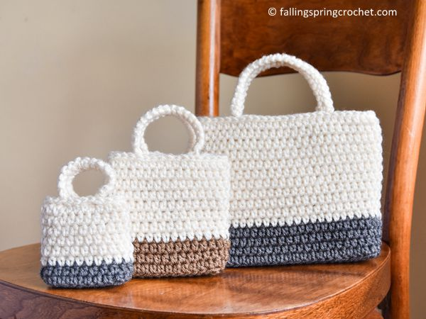 Easy Gift Bag Crochet Pattern -30