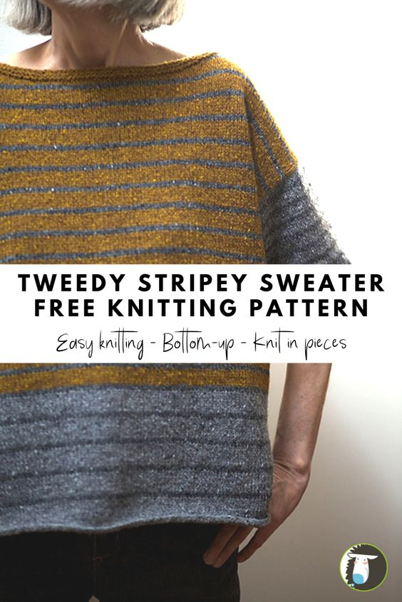 Easy Knitted Sweater Free Patterns