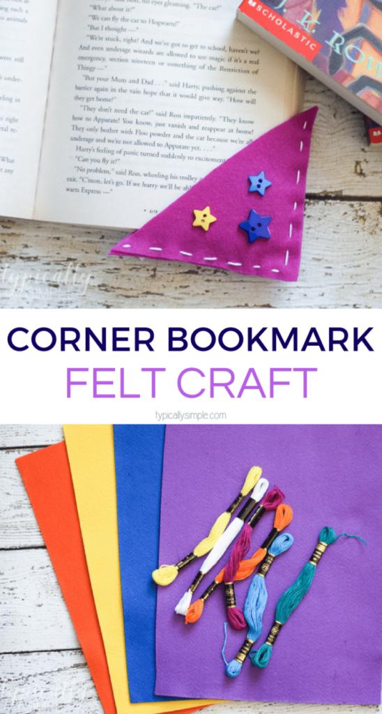 Felt Corner Bookmarks