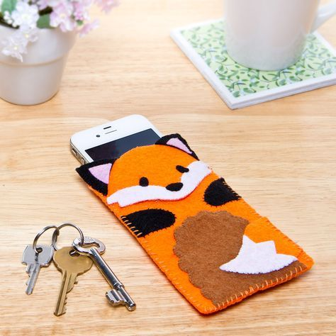 Felt Fox Phone Case