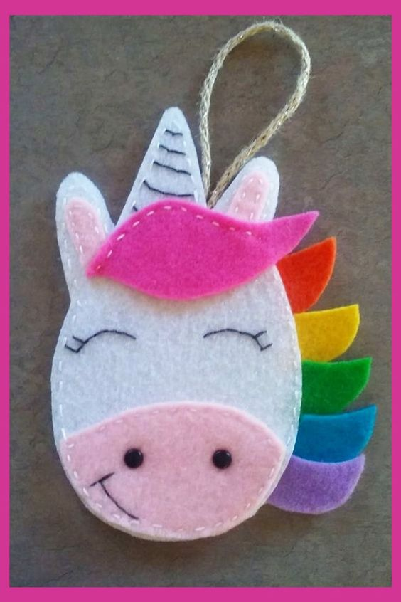 Felt Unicorn Craft