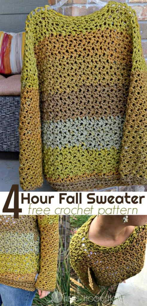 Four-hour Fall Sweater -20