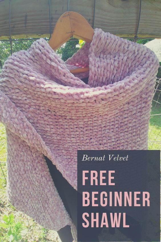Free Beginner Shawl