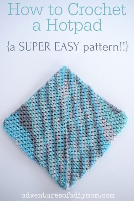 Free Hot Pad Crochet Pattern