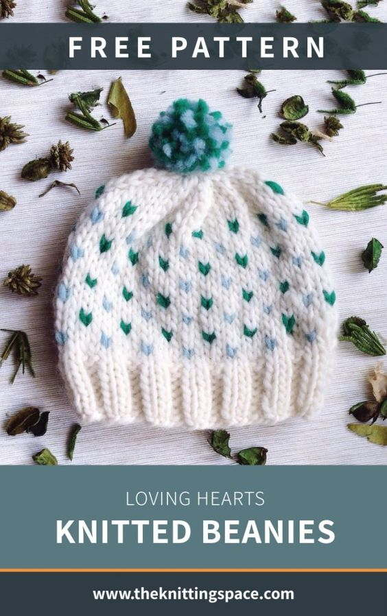 Free Knitting Beanie Crochet Pattern