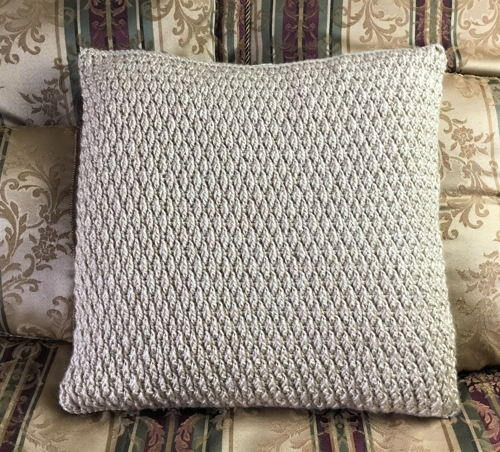 Free Pillow Cover Crochet Pattern -10