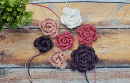 Free Rose Crochet Pattern