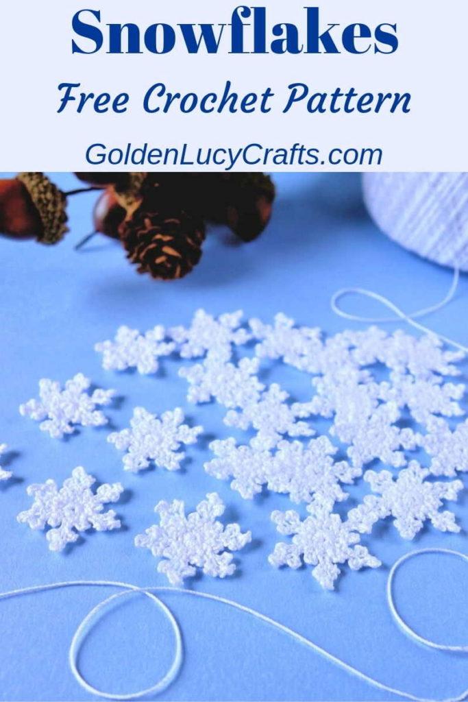 Free Snowflake Crochet Pattern