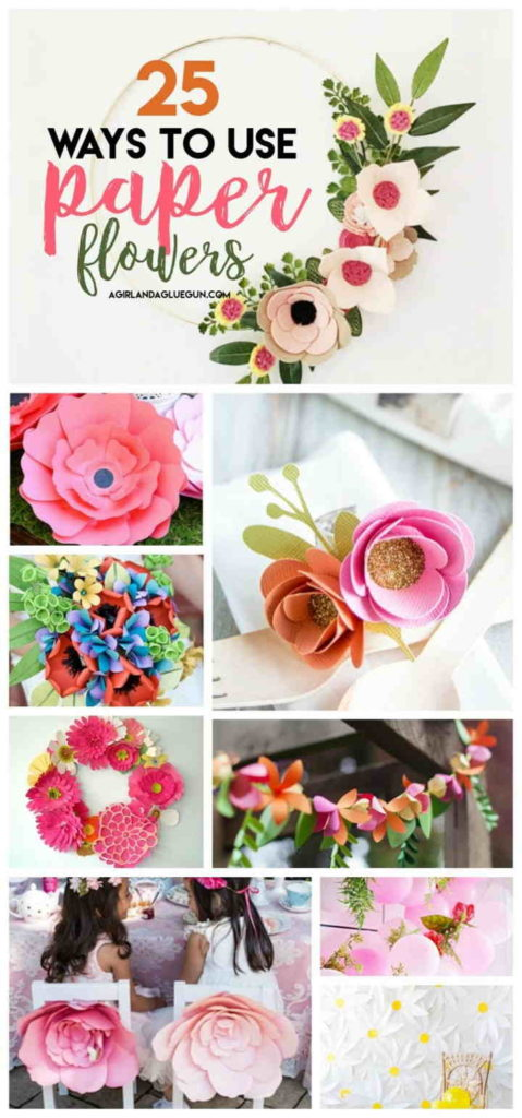 Fun Ways to Use Paper Flowers