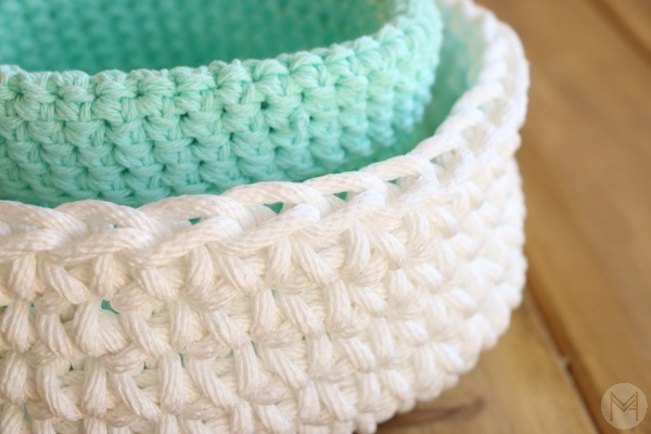 How to Make Easy Crochet Basket