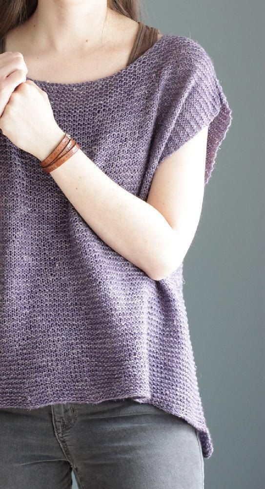 Jessie's Girl Knitting Pattern Summer Top