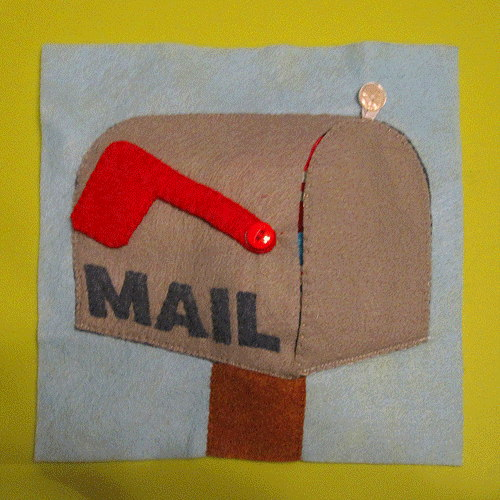 Letters in the Mailbox