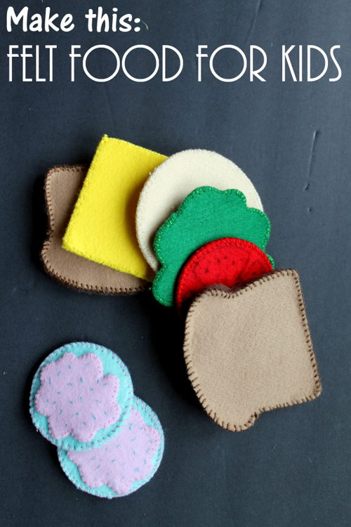 Make Your Own Felt Food