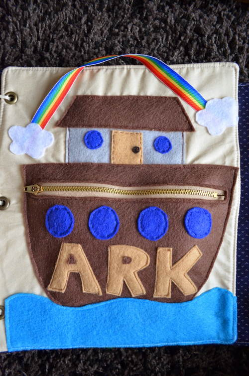Noah's Ark Quiet Book
