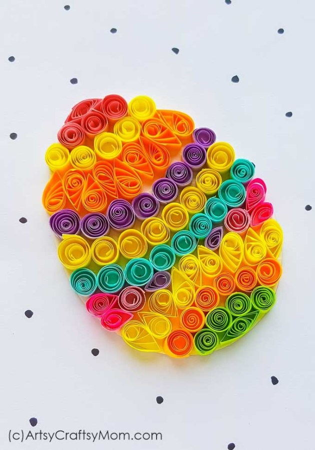 Paper Quilling Egg
