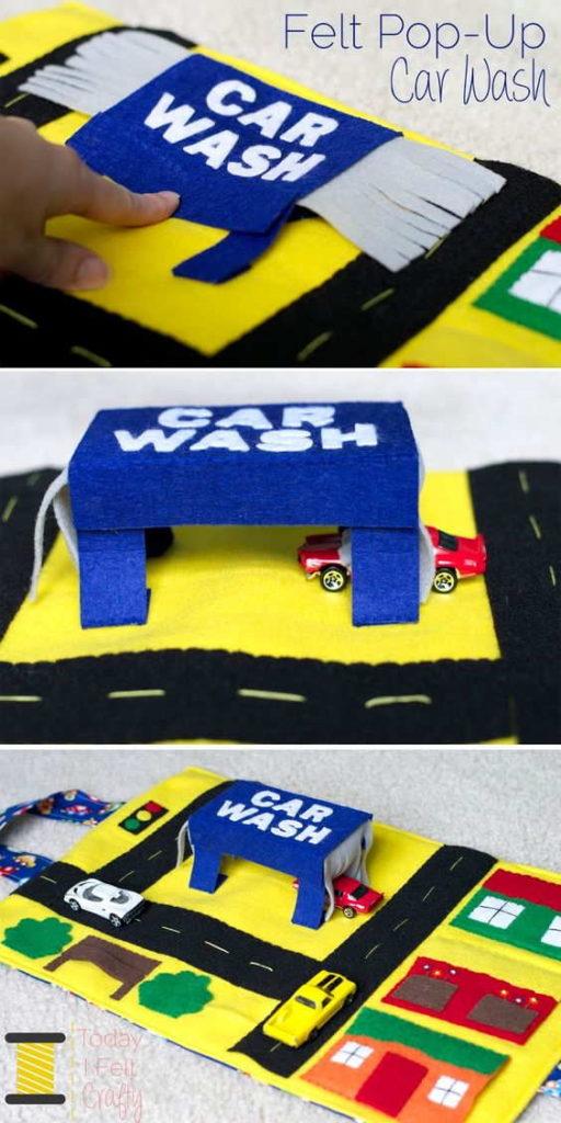 Pop-up Car Wash Activity