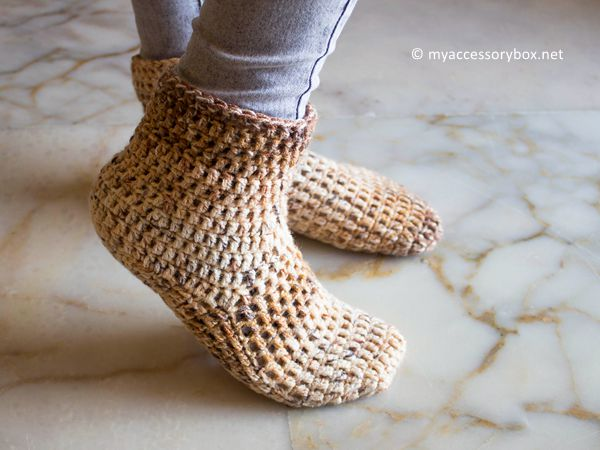 Quick Slipper Crochet Pattern
