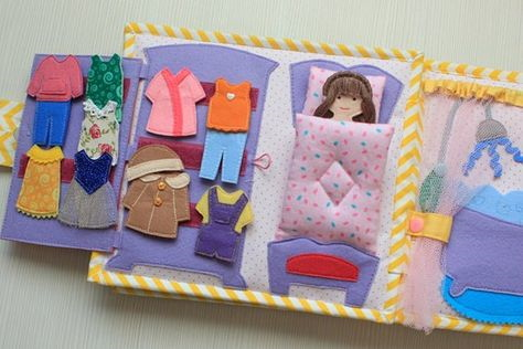 Quiet Book Doll House