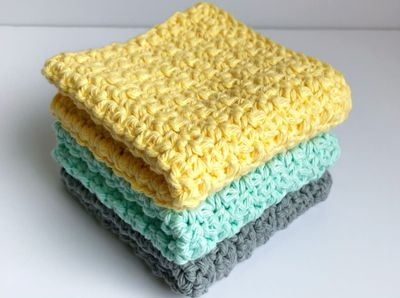 Sunshine Dish Cloth