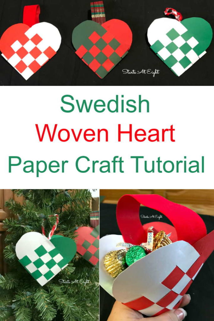 Swedish Woven Paper Heart